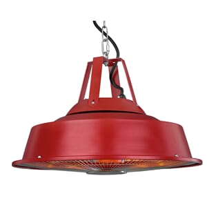 Retro Partytelt Heater Sail - Red